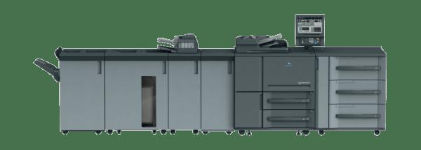 Ulotki cyfrowe - druk czarno biały Konica Minolta 1051