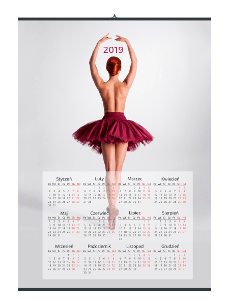kalendarze ścienne znadrukiem