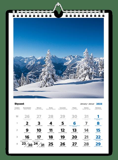 kalendarze ze zdjęciami na każdy miesiąc
