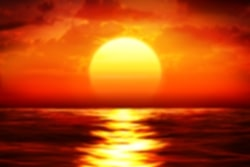 przykład obrazu - zachód słońca