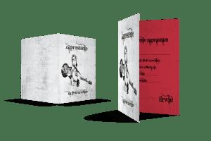 foldery - druk cyfrowy